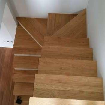 coperture di scale e gradini su misura in parquet