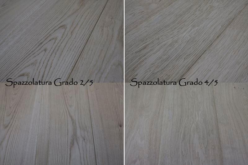 Pavimenti Rustici In Legno : Pavimenti in legno in rovere con spazzolatura rustica per parquet